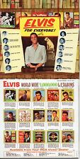 CD Elvis PRESLEY Elvis for everyone! (1965) - Mini LP REPLICA - 12-track CARDSLE