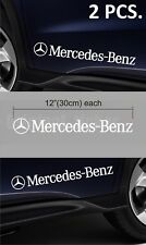 Mercedes-Benz set of two Premium stickers decal on the door emblem logo C-class