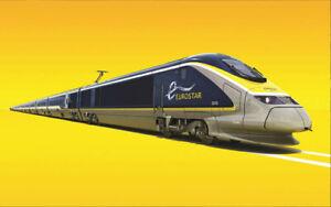 Gaugemaster GM2260102 N Gauge 16 Car Eurostar Train Pack