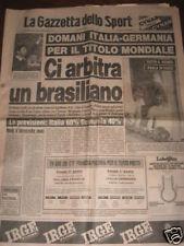 GAZZETTA DELLO SPORT 10/07/1982 CAMPIONATO DEL MONDO