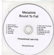 (BW742) Mecalimb, Bound to Fall - DJ CD