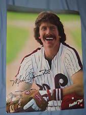 Orig. 1980 Philadelphia Phillies' Mike Schmidt 19x25in. Baseball 7Up Poster MINT