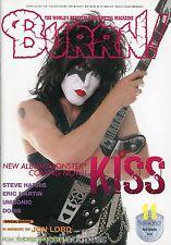 Burrn! Heavy Metal Magazine November 2012 Japan Kiss Deep Purple Motley Crue