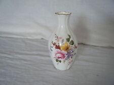 C4 Porcelain Royal Crown Derby Posies Vase 18cm 1A4B