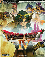 Dragon Quest IV Chapters of the Chosen Official Strategy Guide BradyGames 2008