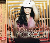hc09 Britney Spears Blackout Japan Edition Bonus Track Cd New