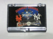 2000 NY New York Mets vs Yankees Subway Series pin MLB Mint in Package