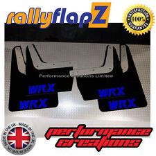 RallyflapZ Subaru Impreza Nuevo Edad Gdb (01-07) las aletas de barro negro azul 4mm PVC WRX
