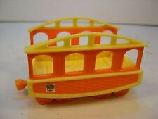 DINOSAUR TRAIN - TRAIN CAR #3 - HARD PLASTIC SINGLE DINOSAUR TRAIN CAR