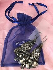GENUINE- JIMMY CHOO EARRINGS FOR H&M- (Limited edition)
