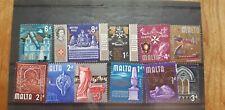 1965 MALTA Mint  Definitives 11 all values to 1'- SG 330 - 340 11 LMM