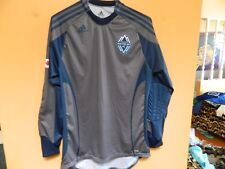 Vancouver Whitecaps FC jersey GOALIE Type arm pads by ADIDAS size mens medium
