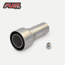 Decibel Killer - 57mm I.D Straight Outlet Exhausts Noise Reducer Race Can Baffle