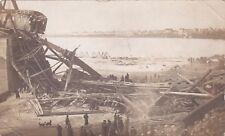 RP; Saskatoon , Saskatchewan, Canada , 1912 ; Railway Bridge Collapse #5