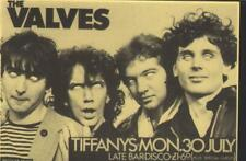 More details for  concert ticket for the valves at edinburgh tiffany's, 1979 excellent condition
