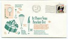 1976 1st Pioneer Venus Parachute Test Truth Or Consequences Earth NASA AMES USA