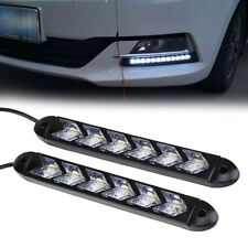 DRL Car Driving Daylight Daytime Running LED Arrow Turn Signal Lamp Waterproof
