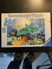 60 Piece Ravensburger Puzzle - Dolphin Duo