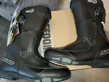 AXO GT Motorcycle boots size 8 black