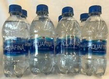 Aquafina Pure Water Lot of 1- 8 Pack -12 oz Plastic Bottles Best By; 5/2021