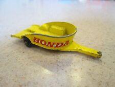 Matchbox Lesney Honda Cycle Trailer #38
