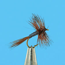 Adams Dry Premium Fly Fishing Flies - One Dozen - Sizes Available *