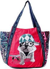 Bolso Shopper Mujer Teo Jasmin Bag Totalizador Grande Teo Hip Hop Sorbet