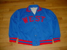 Vintage West Aurora IL High School Game Used Track Large Made-USA Sewn-On Rare!