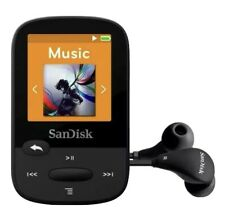 Sandisk Clip Sport Mp3 Player Black 4Gb w/microsd slot expandable