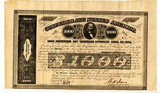 1863  $1000  Confederate Bond