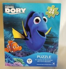 "Disney Pixar ""Finding Dory"" Jigsaw Puzzle 24 Pieces Dory & Nemo (NIB) Age 5 +"