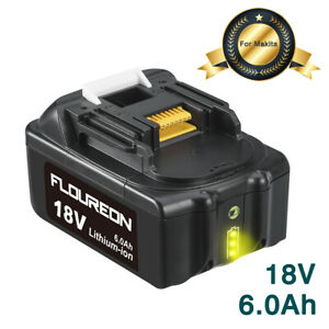 18V 6.0Ah Lithium-ion Battery for Makita BL1815 BL1830 BL1835 BL1840 BL1850 UK