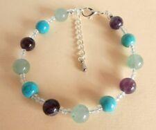 Gemstone Crystal Healing Weight Loss Motivation Support Bracelet Gift Bag