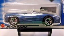 2002 Hot Wheels Ferrari F355 Spider in Blue Collector #164