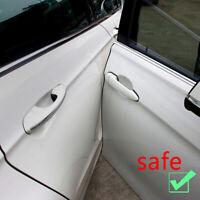 Car Door Edge Guards U Shape Clear Trim Molding Carbon Fiber Seal Protectors 1X