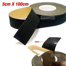 Car Auto Interior Adhesive Noise Reduction Felt Tape Black 2X39inch for BENZ