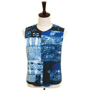 Issey Miyake Men artistic vest / waistcoat (001-361)