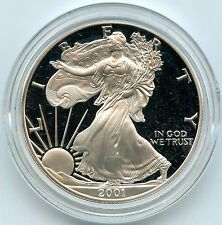 2001 American Eagle Silver Dollar PROOF Coin - 1 oz - United States Mint