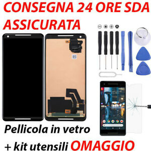DISPLAY LCD SCHERMO TOUCH SCREEN GOOGLE PIXEL 2 XL G011C VETRO