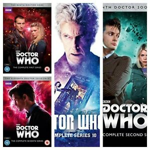 Doctor Who DVD Box Set Series 1 2 3 4 5 6 7 8 9 10 Dr Who Complete Collections