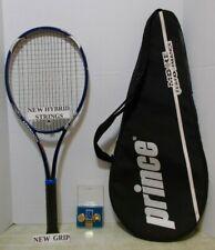 Prince Triple Threat Approach MP 105 Tennis Racquet 4 3/8-NEW STRINGS/GRIP&BONUS