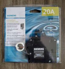 Siemens QF120AP Ground-Fault Circuit Interupter Breaker 20A