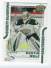 Dustin Wolf 2018-19 Everett Silvertips
