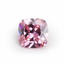 10X10mm AAAAA Pink Sapphire Square Cushion Faceted Cut 6.79ct VVS Loose Gems