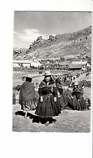 B81680 view of the villagepuno iehu folklore types peru front/back image