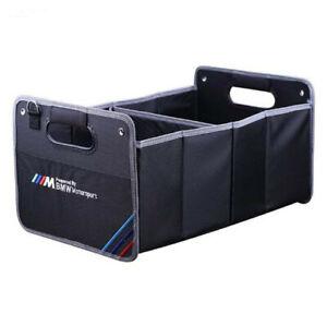 Car Trunk Organizer Heavy Duty Collapsible Auto Trunk Storage Box for BMW