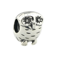 Retired Pandora .925 Sterling Silver Charm Jewelry owl charm