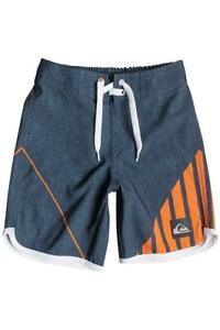 Quiksilver NEW WAVE COMP BOARDSHORT Boardies Shorts KIds Boys Size 5 - Navy