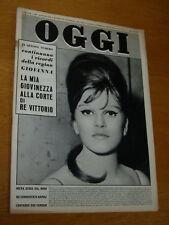 OGGI 1961/28=MILVA=RICCARDO RICCIARDI=ANNA MARIA ALBERGHETTI=ROMOLO MANGIONE=