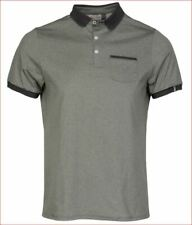 new KJUS men polo shirt strike primeflex MG60-906 UPF30+ grey 18800 XL/54 $129